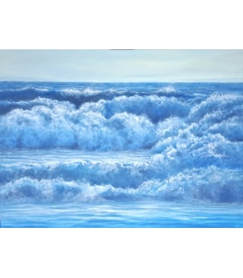 Big Blue Wave (SOLD)
