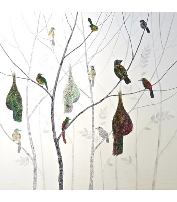 Weaver Birds (SOLD)