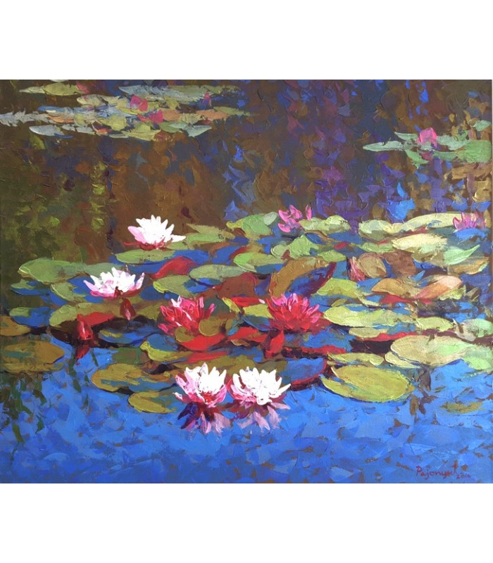 Waterlilies (800mm x 1000mm)