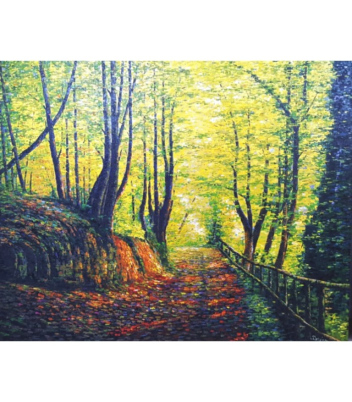 Forest Path (1200mm x 1500mm)