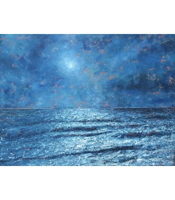 Moonlight at laguna (1000mm x 1300mm) SOLD