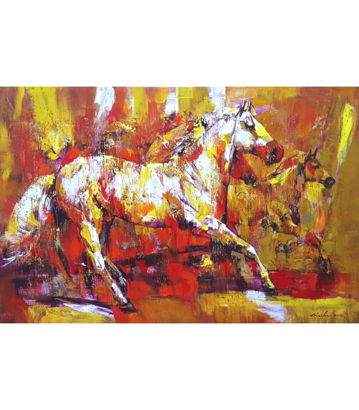 Abstract Horse  (SOLD)