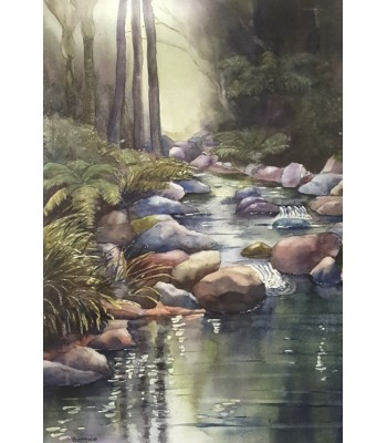 Wairora Stream (700mm x920mm)