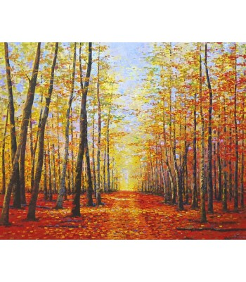 Path in Autumn Forest (SOLD)
