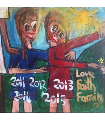 Love, Faith, Family (SOLD)
