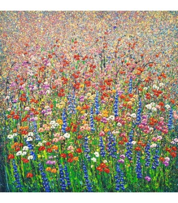 Field of flowers (150cm x 150cm) SOLD