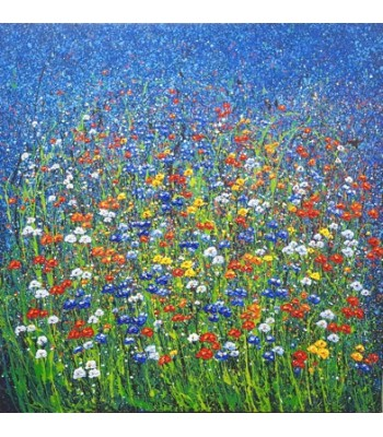 Field of flowers (150cm x 150cm)