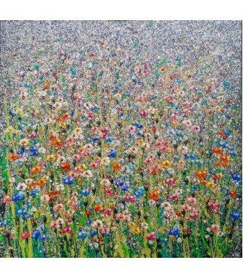 Field of flowers (1200mm x 1200mm) SOLD