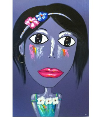 Pretty purple girl (SOLD)