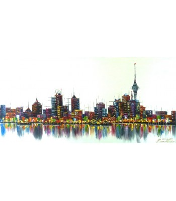 Auckland Skyline (SOLD)