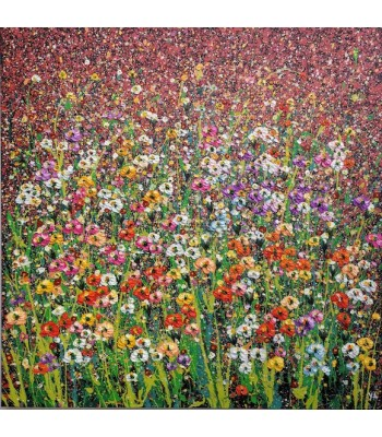 Field of Flowers (1000mm x 1000mm) SOLD