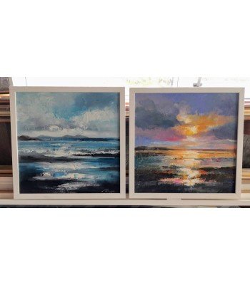Seascapes 400mm x 400mm (SOLD)