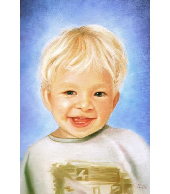 Child Portrait (300mm x 400mm)