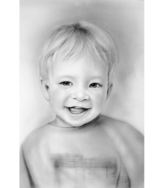 Portrait in Charcoal (360mm x 540mm)