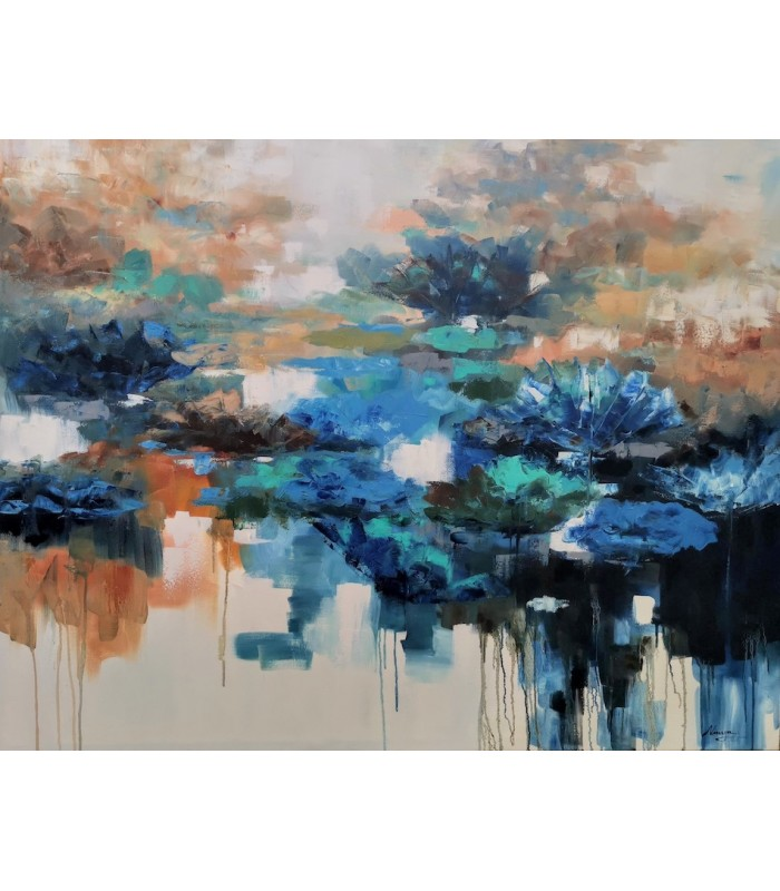 Water Lilies 1500mm x 1200mm