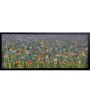 Field of Flowers (1500mm x 600mm Framed) SOLD